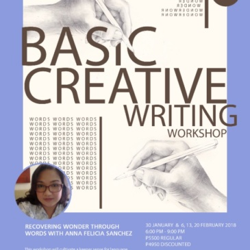 Basic Creative Writing: Recovering Wonder Through Words