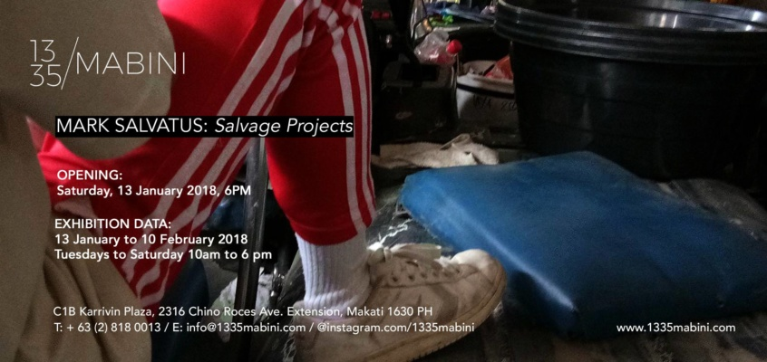 Mark Salvatus: Salvage Projects
