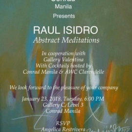 Raul Isidro: Abstract Meditations