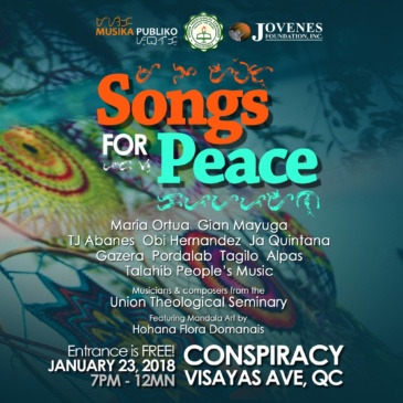 Songs For Peace Year Opener