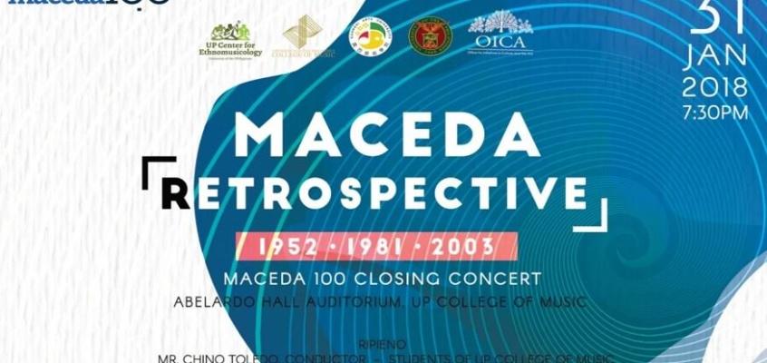 Maceda Retrospective: 1952 • 1981 • 2003