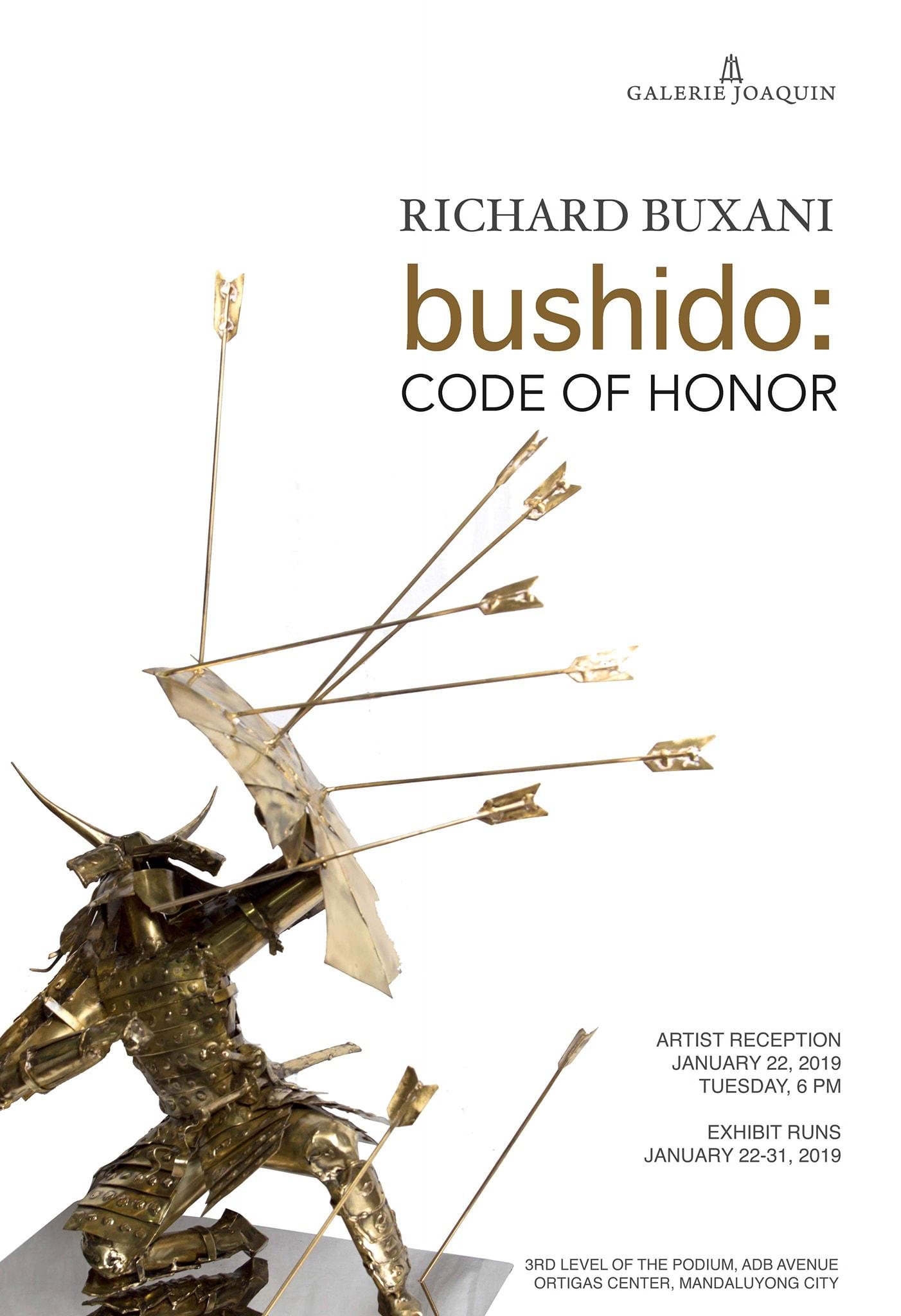 Bushido: Code of Honor | Agimat: Sining at Kulturang Pinoy
