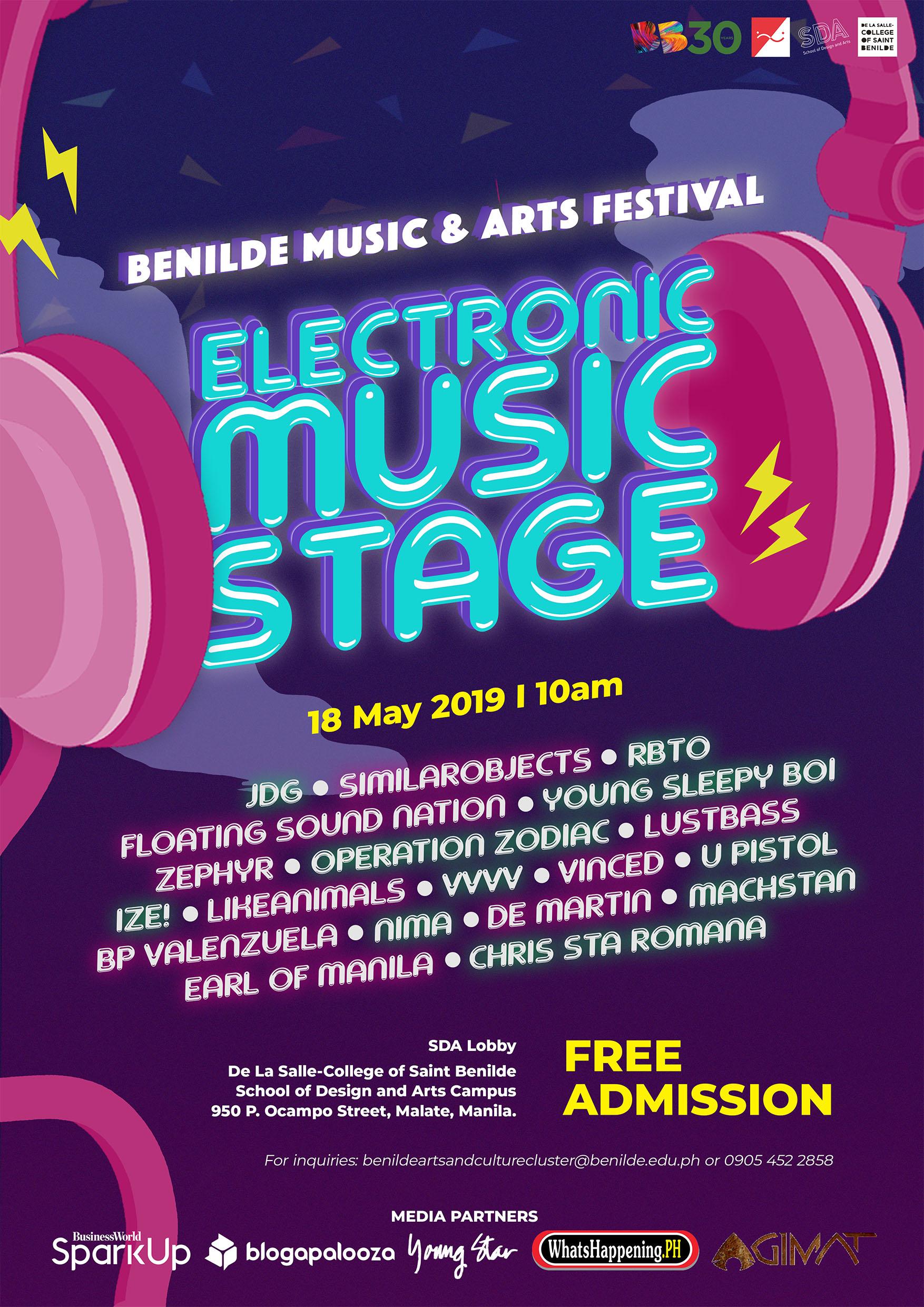 Benilde's Music and Arts Festival | Agimat: Sining at