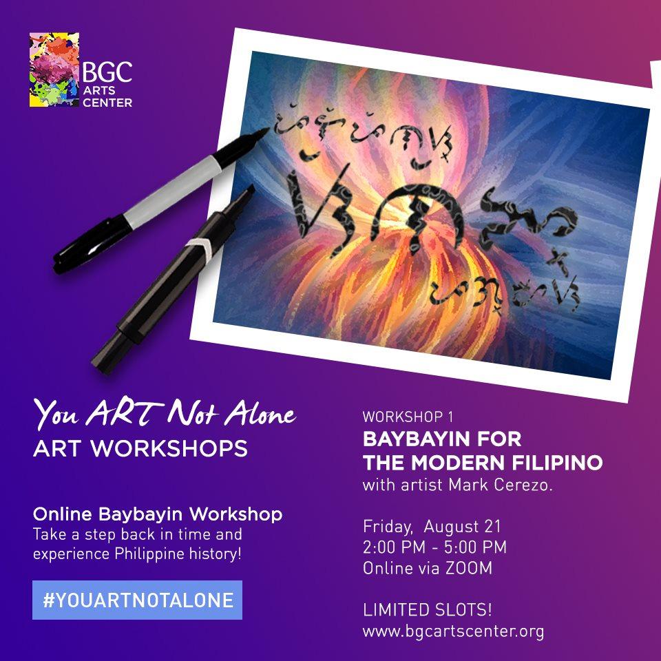 Baybayin For The Modern Filipino Agimat Sining At Kulturang Pinoy